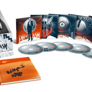 PHANTASM 1-5 Limited Edition Collection! Including a brand new 4K restoration overseen by J.J. Abrams