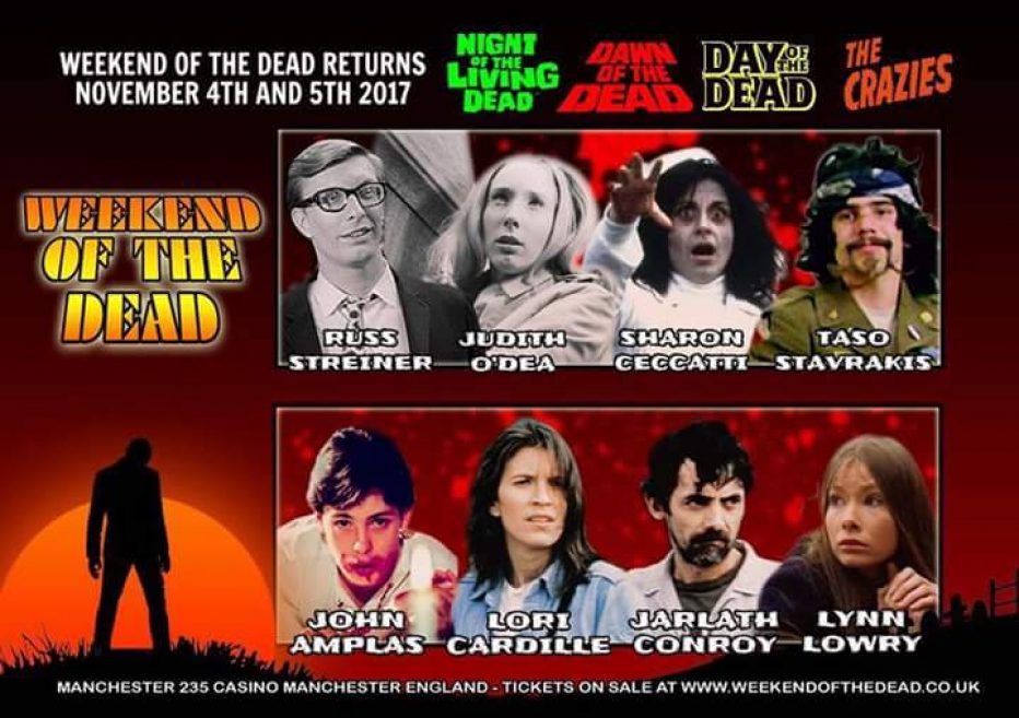 Weekend of the Dead Manchester 4th & 5th November 2017