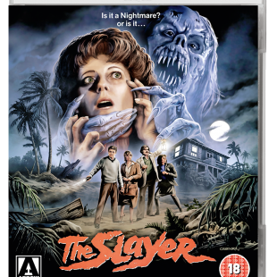 The Slayer – on Dual Format Blu-ray + DVD on 21 August 2017