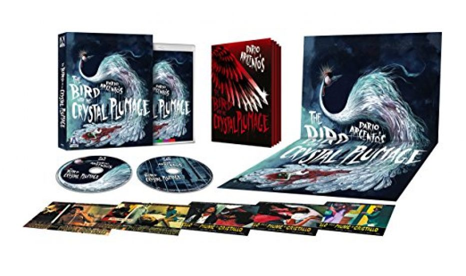 *New release date* for Dario Argento's The Bird With The Crystal Plumage! Out 19th June