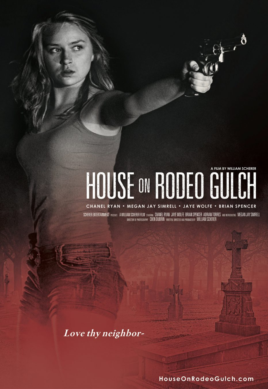 "The Lost Boys aren't the only evildoers in Santa Cruz, welcome to ""The House on Rodeo Gulch""!"