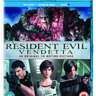 RESIDENT EVIL VENDETTA On Digital July 3rd Limited Edition Steelbook, 2-disc Blu-ray™ & DVD on July 17th