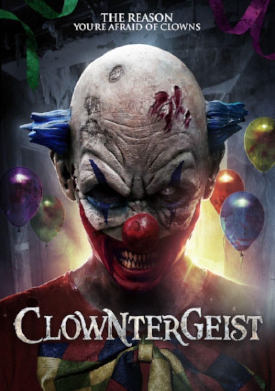 POLTERGEIST meets IT in CLOWNTERGEIST – premiering on VOD this September!