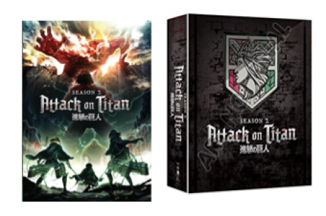 ATTACK ON TITAN SEASON 2 – On DVD, Blu-ray and Limited Edition Blu-ray February 26