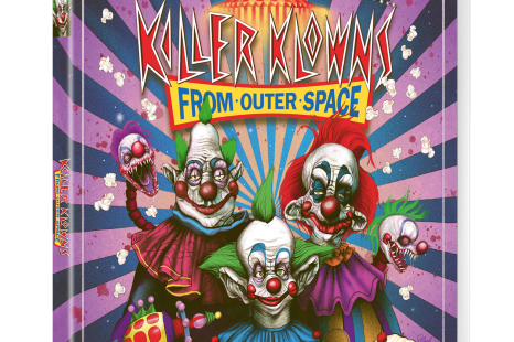 Killer Klowns from Outer Space – on Blu-ray on 26 March 2018