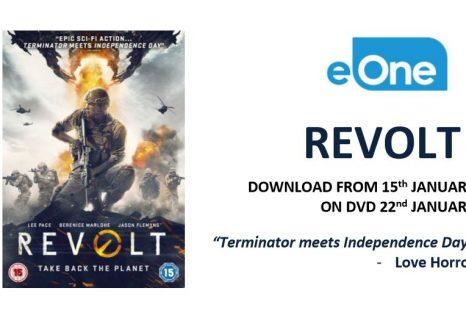 REVOLT – out on DVD 22nd January
