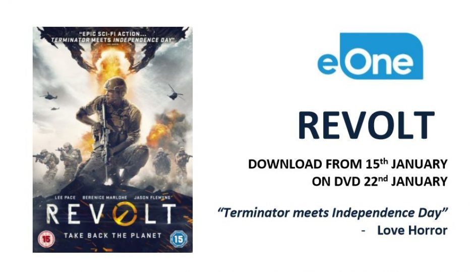 REVOLT – out on DVD 22nd January