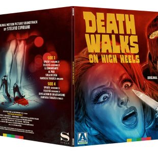 Death Walks on High Heels on Translucent Red Double Vinyl on 23 February 2018