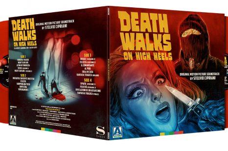 Death Walks on High Heels on Translucent Red Double Vinyl on 23 February 2018