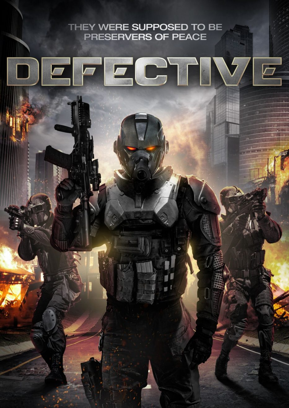 "When RoboCops Attack! ""DEFECTIVE"" coming to VOD 13th February"