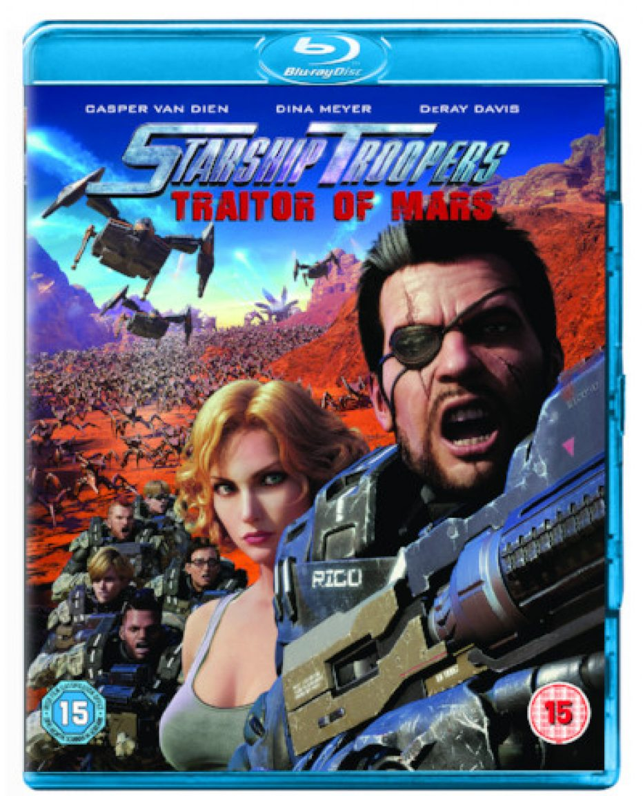 STARSHIP TROOPERS: TRAITOR OF MARS OUT MONDAY 8TH JANUARY