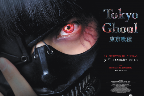 Tokyo Ghoul: New Trailer and Quad Poster – In cinemas 31st January