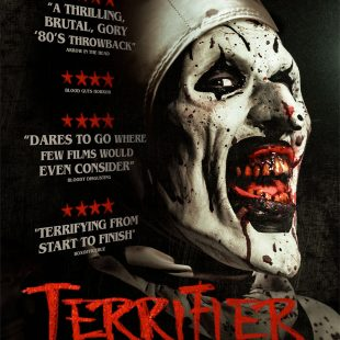 The hair-raising clown horror TERRIFIER out on DVD & Digital HD 2nd April