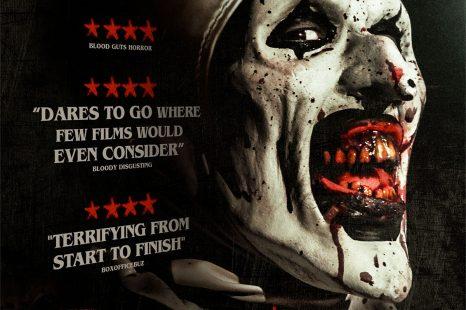 The hair-raising clown horror TERRIFIER out on DVD & Digital HD 2nd April