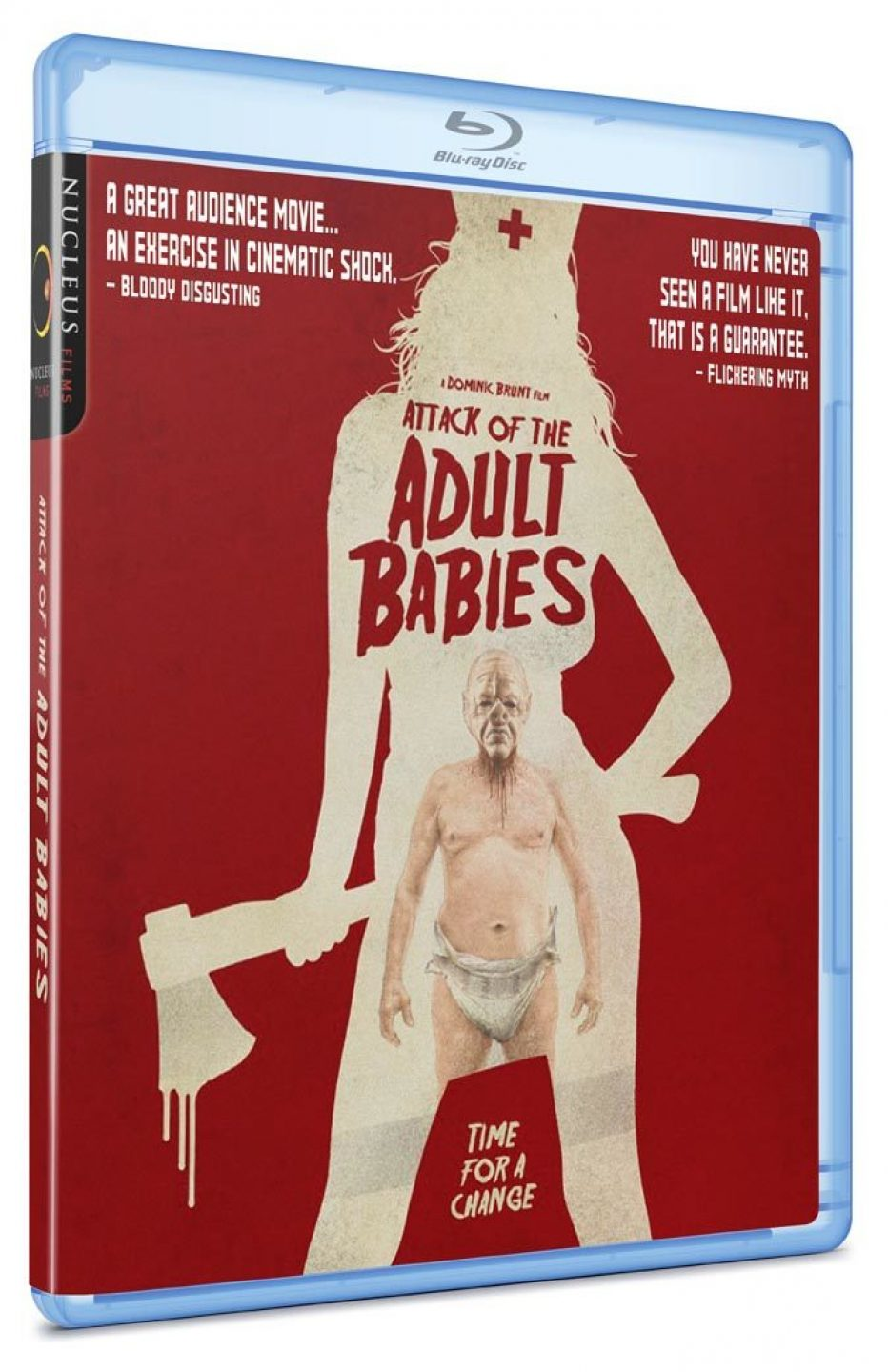 Dominic Brunt's outrageous horror satire ATTACK OF THE ADULT BABIES gets UK release