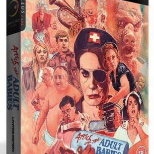 Graham Humphrey's stunning new artwork for limited edition Blu-ray of ATTACK OF THE ADULT BABIES