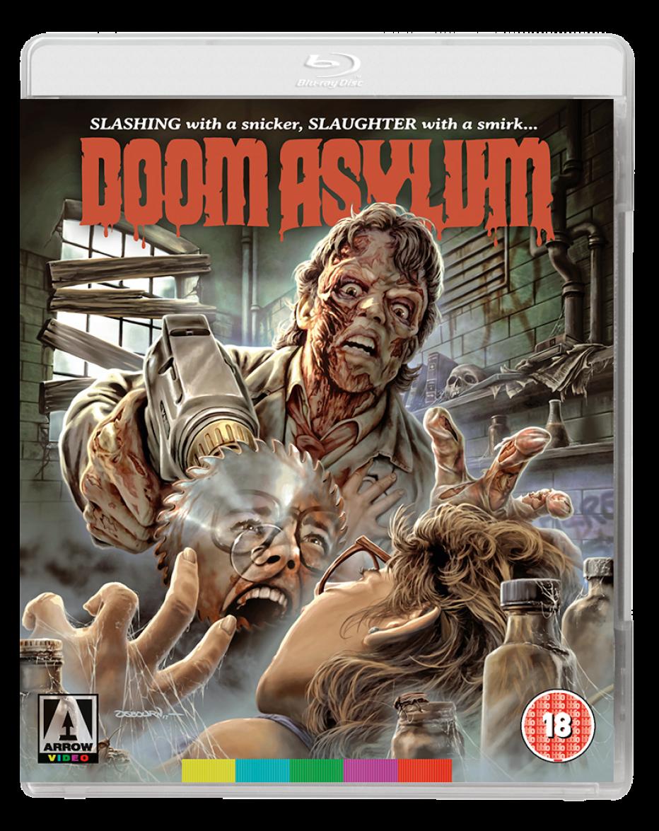 Doom Asylum – on Blu-ray on 16 July 2018