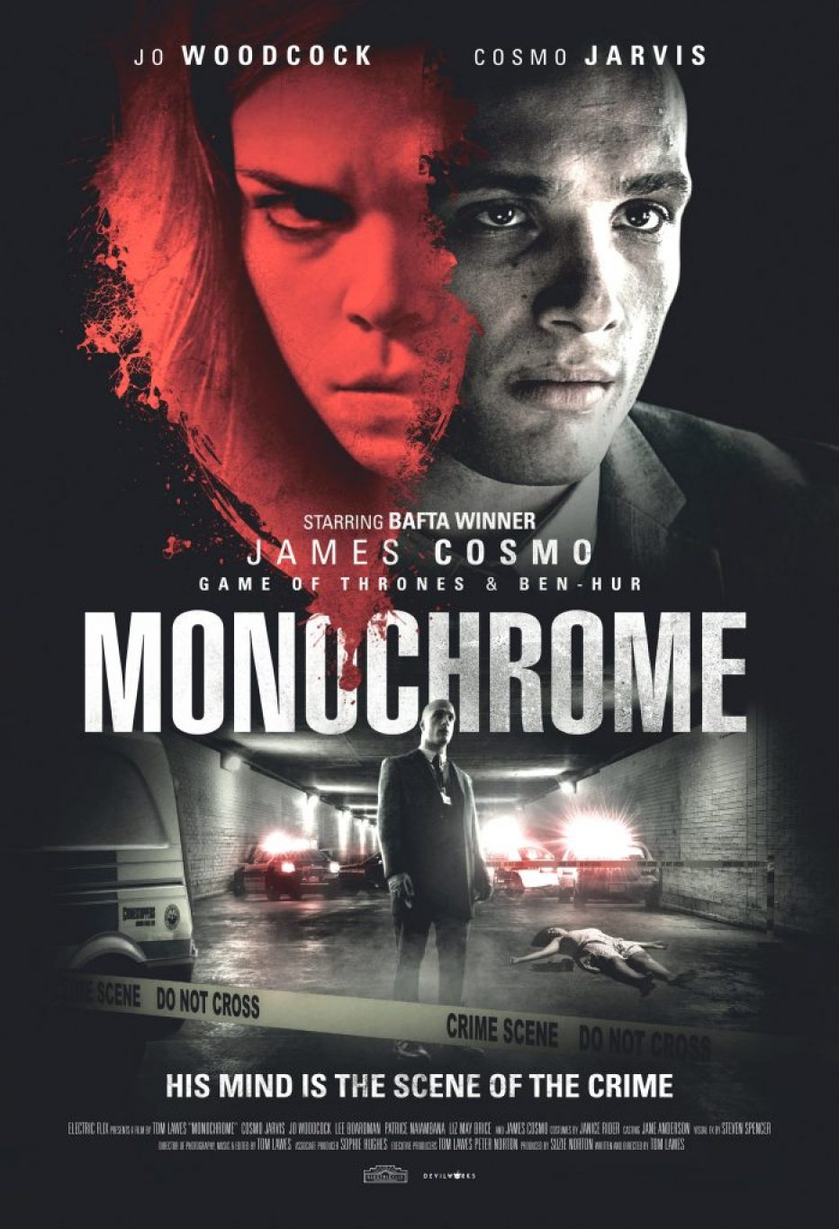 Thomas Lawes' Monochrome premieres on VOD and DVD this June from Gravitas Ventures.