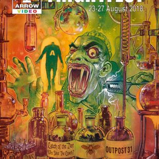Graham Humphreys' beautiful artwork for Arrow Video FrightFest 2018 pays homage to 200th Anniversary of Mary Shelley's Frankenstein