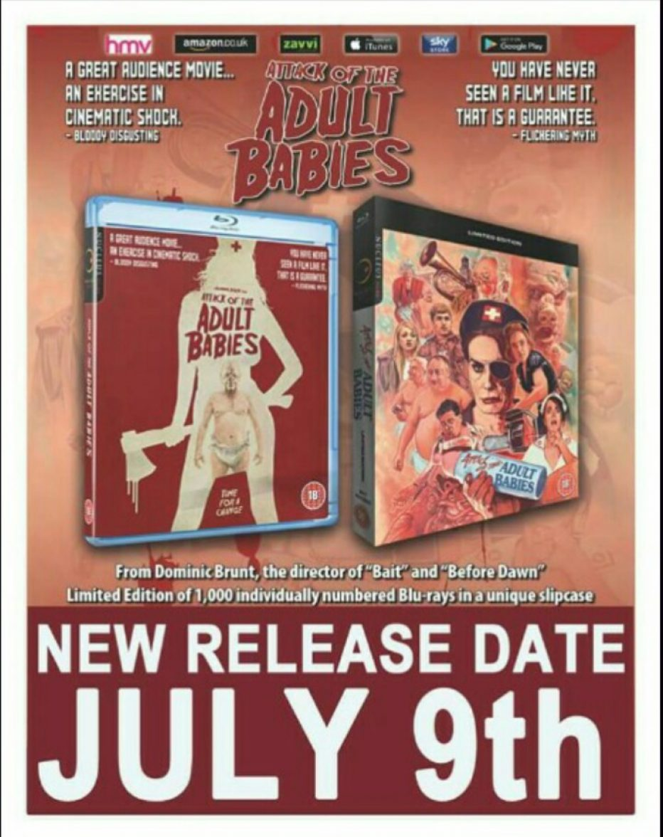 Attack of the Adult Babies (2017) Review by Steve Wells