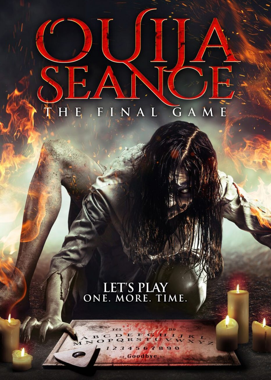OUIJA SEANCE : THE FINAL GAME coming 3rd July 2018 VOD  and 3rd August 2018 on DVD!