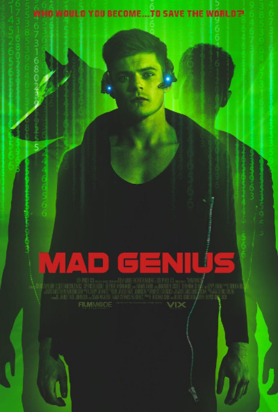 """Official trailer for """"MAD GENIUS"""" starring Spencer Locke (Insidious: The Last Key)"""
