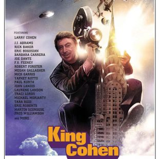 "FIRST CLIP RELEASE! JOE DANTE, LARRY COHEN feature in 'Q' clip from ""KING COHEN"" – in theaters July 20"