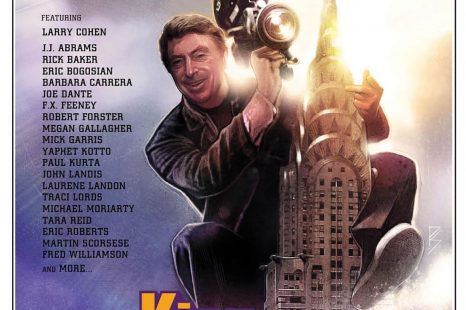 """FIRST CLIP RELEASE! JOE DANTE, LARRY COHEN feature in 'Q' clip from """"KING COHEN"""" – in theaters July 20"""