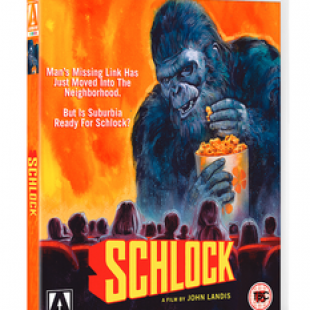 Schlock Out on Blu-Ray 15th Oct. 2018