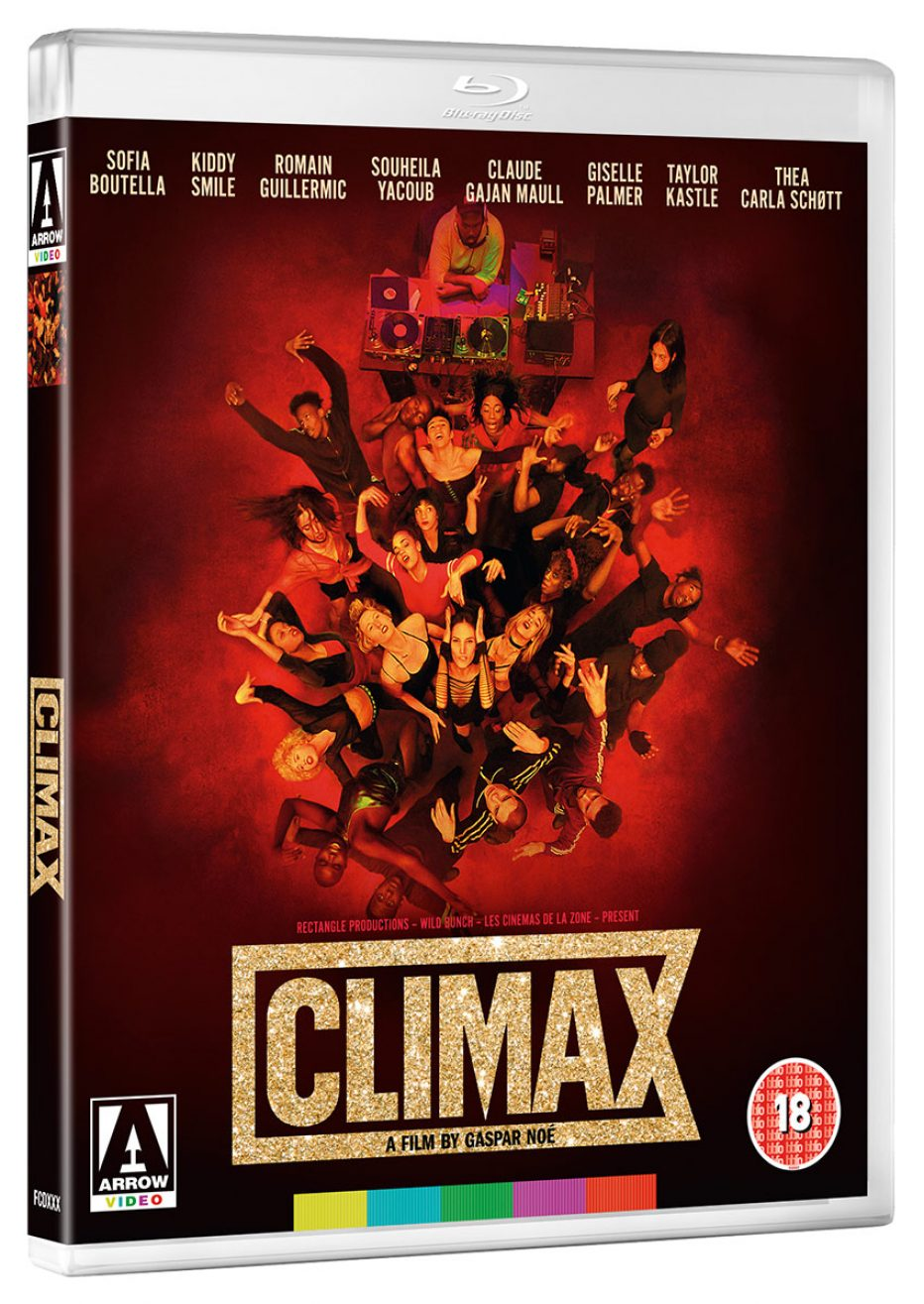 Climax on DVD and Blu-ray on 11 February 2019