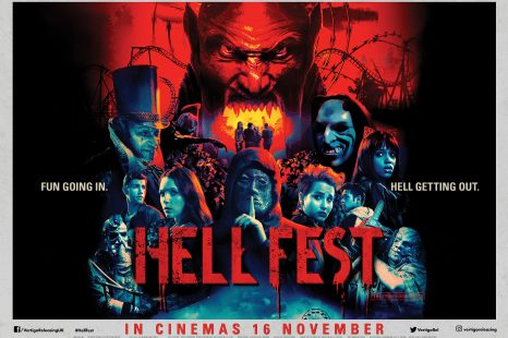 HELL FEST Slasher fun starring Bex Taylor-Klaus, Tony Todd and more! In cinemas 16th November