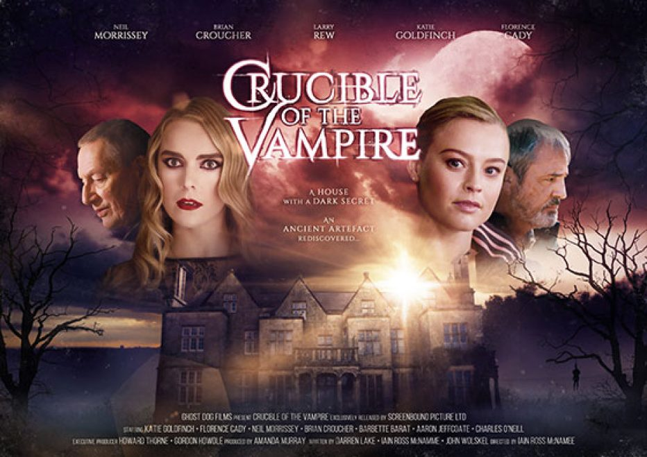 'Crucible of the Vampire' starring Neil Morrissey, Katie Goldfinch and Florence Cady in cinemas 1 February 2019