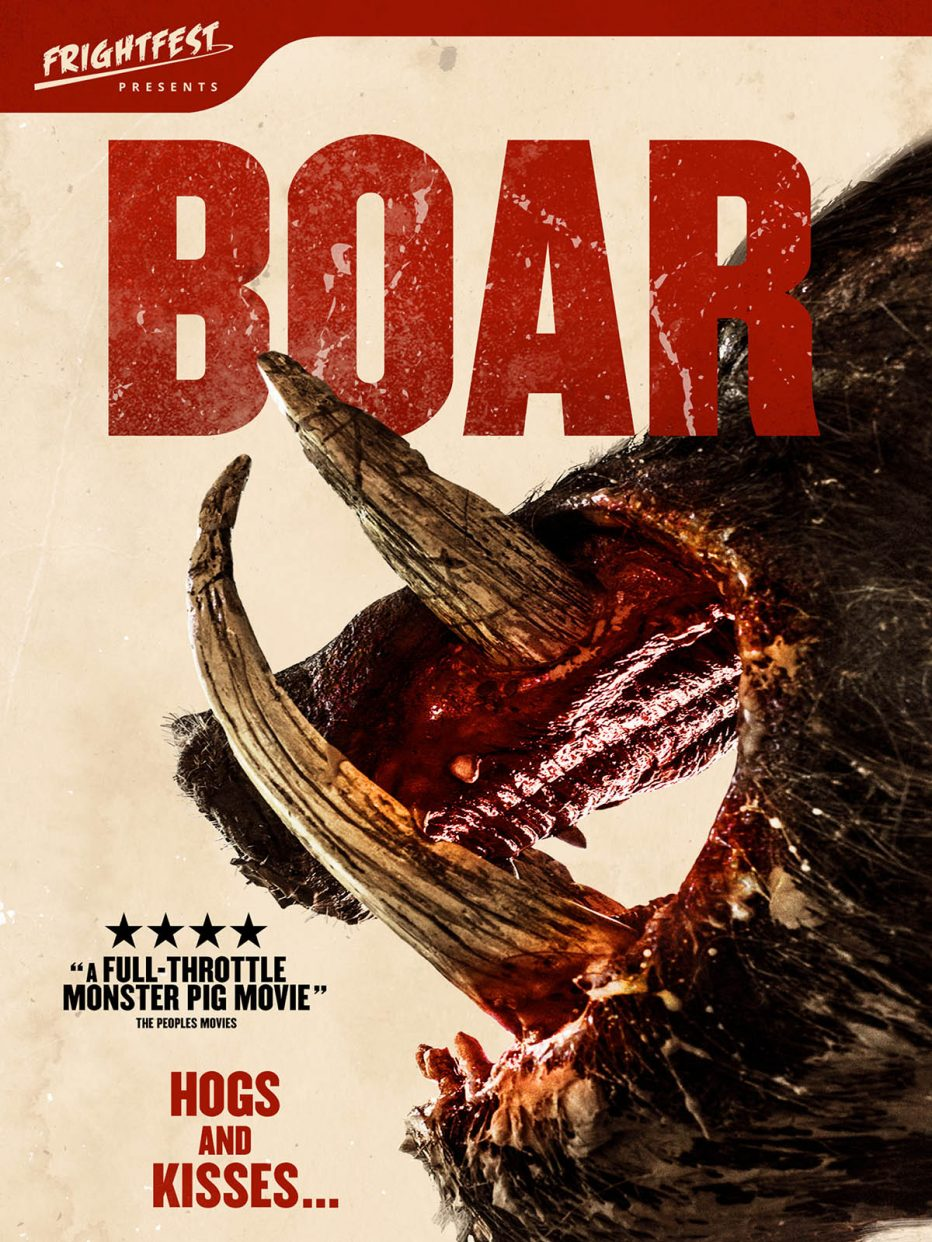 FrightFest Presents – 'BOAR' – Released on DVD and Digital HD 25th February 2019