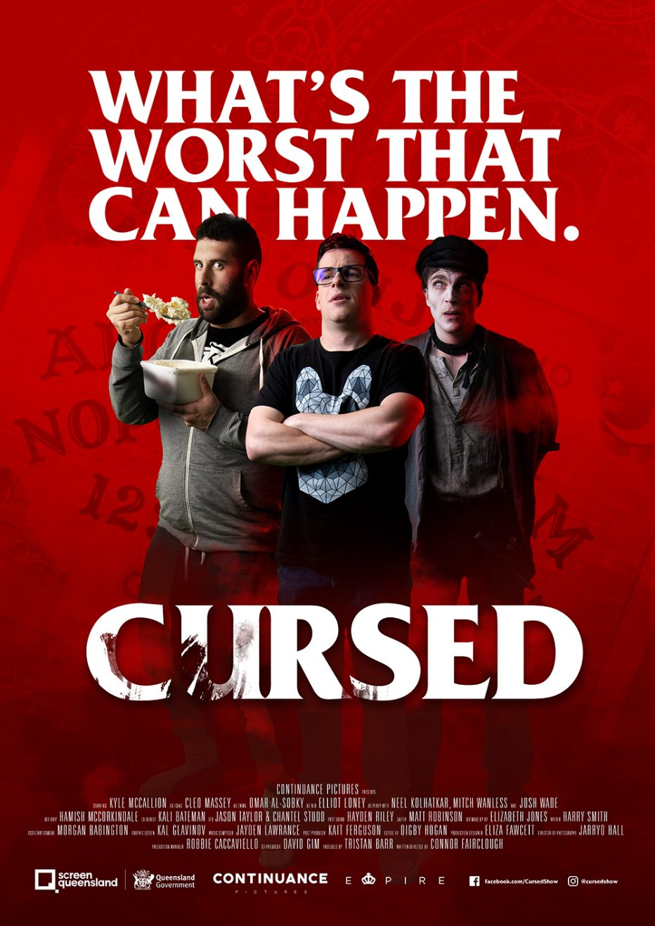 PREVIEW OF UPCOMING HORROR-COMEDY SERIES – CURSED!