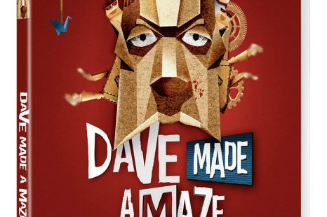 The dazzlingly original DAVE MADE A MAZE out 28th January 2019 from Arrow Video! Imagine Michel Gondry and Tim Burton given unlimited cardboard, sellotape and a film camera…