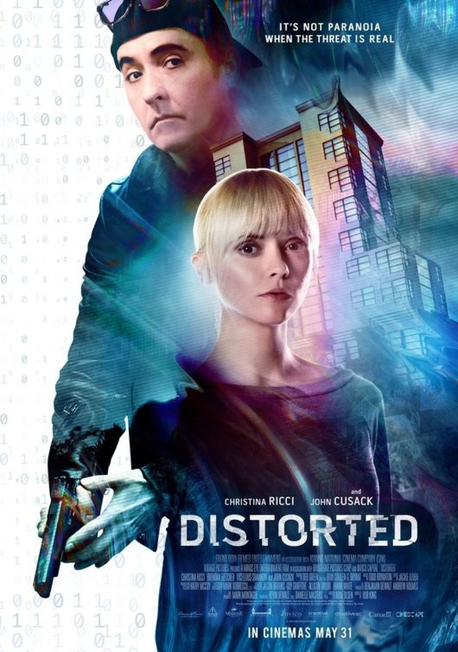 Distorted on Digital Download from 4th February Starring Christina Ricci and John Cusack