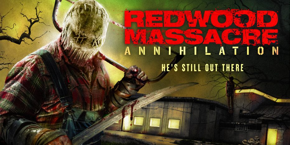 Official Trailer & Poster** - Danielle Harris in REDWOOD MASSACRE :  ANNIHILATION - My Bloody Reviews