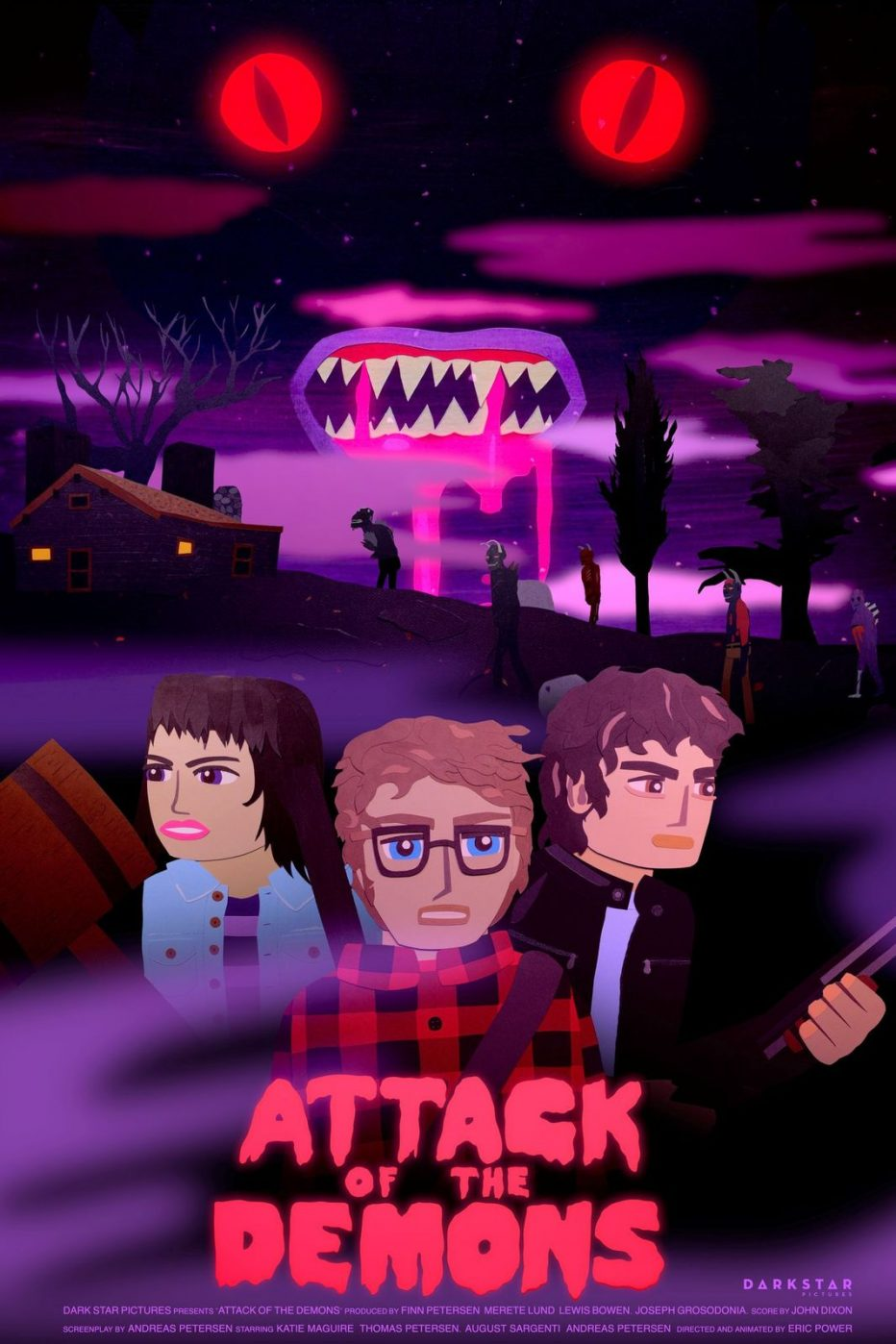 ATTACK OF THE DEMONS 😈- Animated Adult Horror Film - in Virtual Cinemas October 30 with VOD Release to follow - My Bloody Reviews